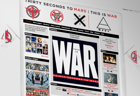Website Thirty Seconds to Mars