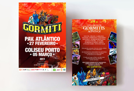 flyer Gormiti