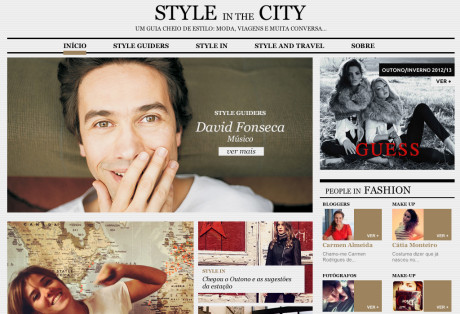Website Style in the City