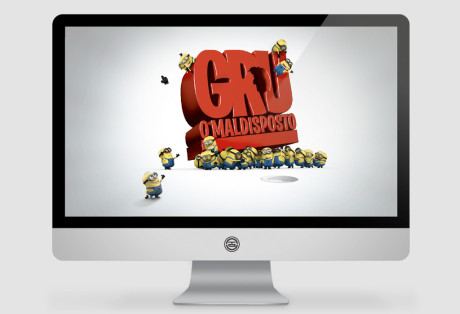 Website Gru – o Maldisposto