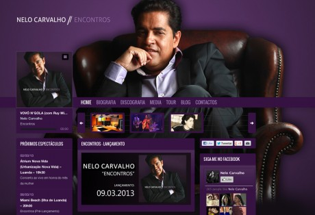 Website Nelo Carvalho