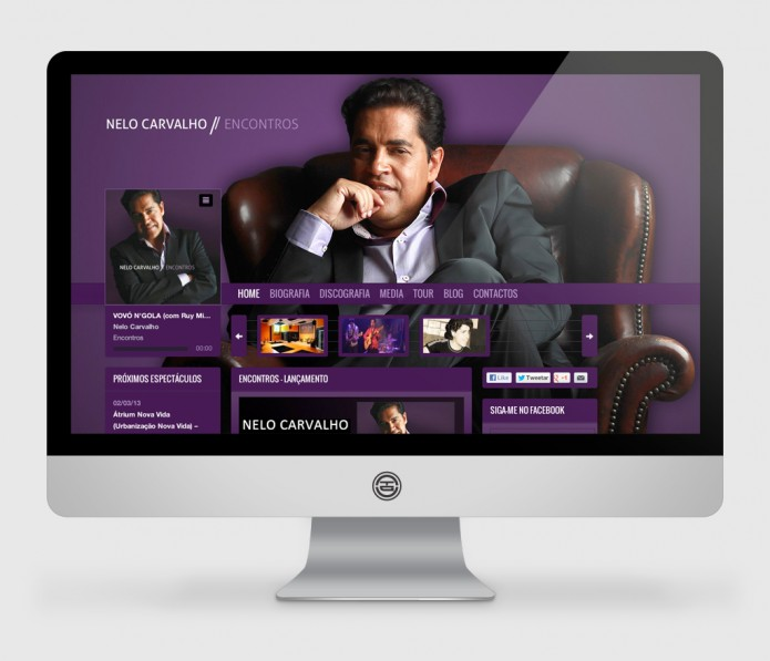 Nelo Carvalho – website