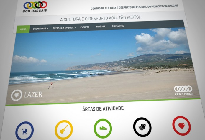 Website CCD Cascais