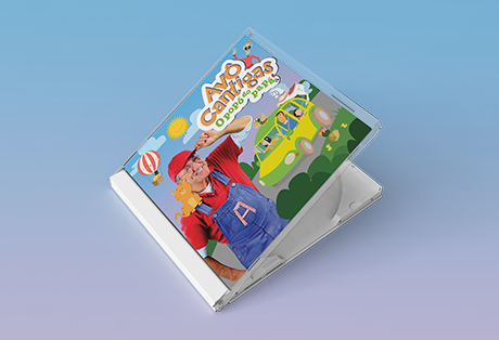 "Avô Cantigas – CD ""O popó do papá"""