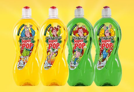Super Pop – Super Heróis Packaging