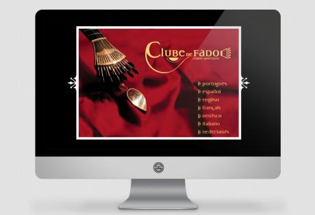 Clube de Fado – Website
