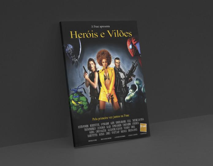 Fnac Herois e Viloes