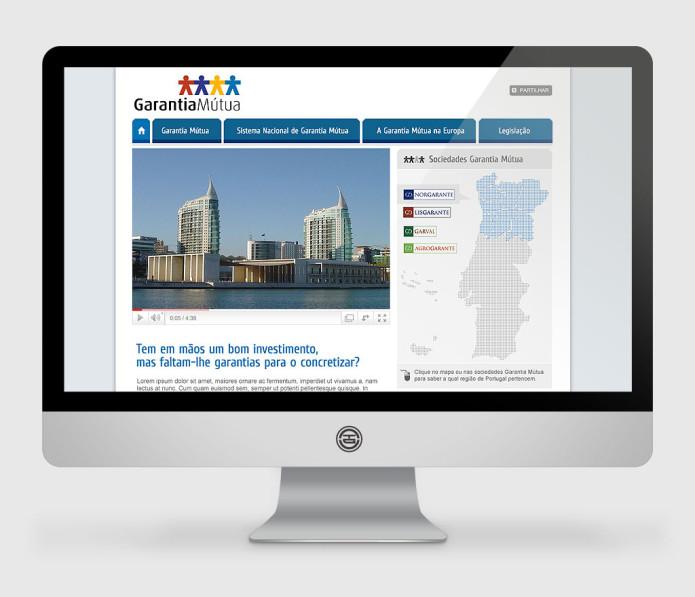 Website Garantia Mútua