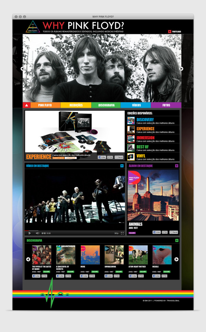 Website Why Pink Floyd?