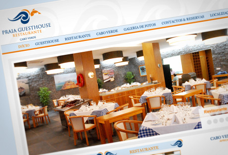 Website Praia Guesthouse