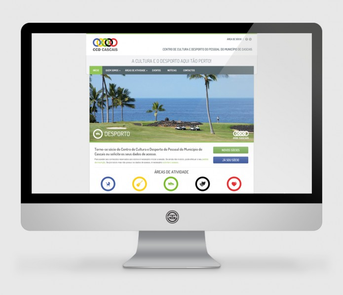 Website CCD Cascais