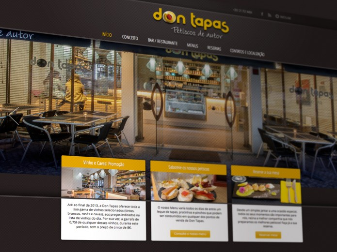 Website Don Tapas
