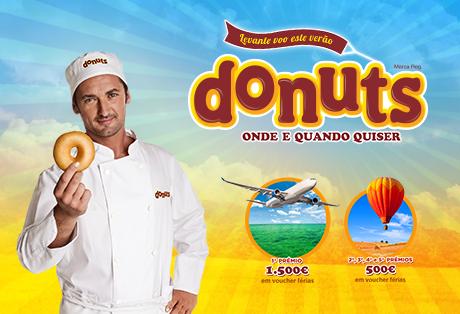 """Campanha Donuts® """"Levante voo este Verão"""""""