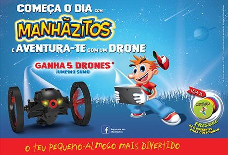 """Campanha Manhãzitos """"Aventura-te com um Drone"""""""