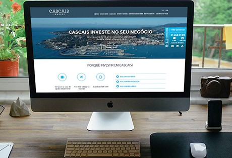 Website Cascais Invest