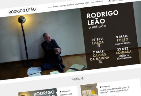 Rodrigo Leão  – Website