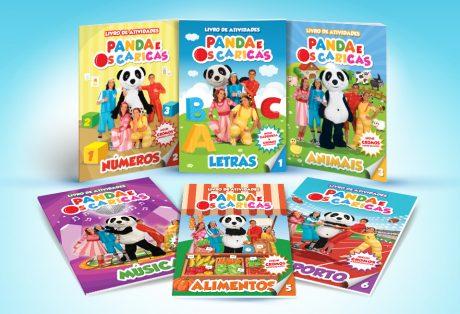 Panda e os Caricas – Livro de Atividades