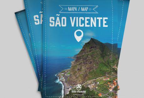Mapa São Vicente (Madeira)