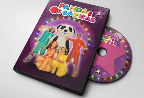 Panda e os Caricas 3 – CD + DVD