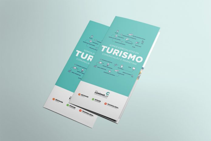 "Tríptico ""Turismo"""