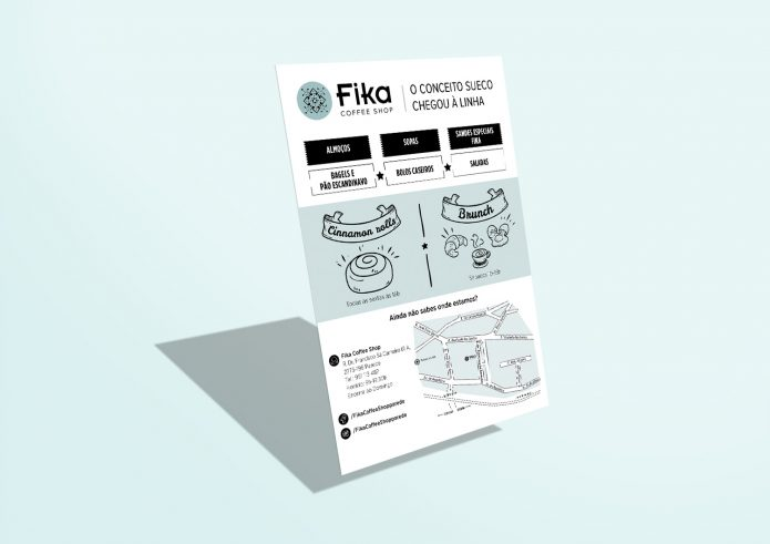 Fika – Coffee Shop – Flyer